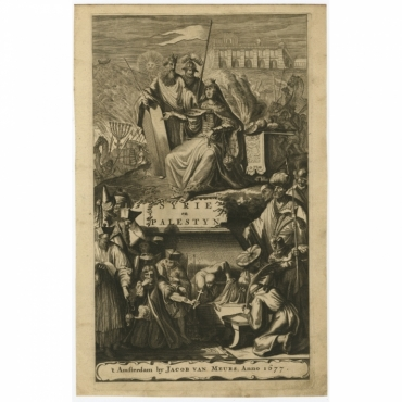 Syrie en Palestyn - Dapper (1677)