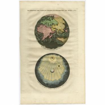 De Schepping der Wereldt volgens de Beschryving van Mozes - Anonymous (1725)