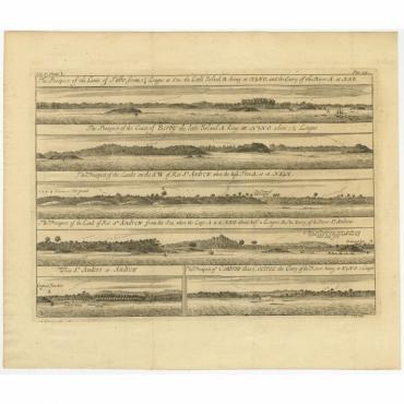 The Prospect of the Lands of Tabo (..) - Kip (1744)