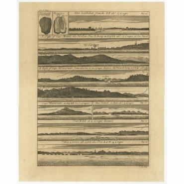 Rio Galinhas … Rio Corso (..) - Kip (1744)