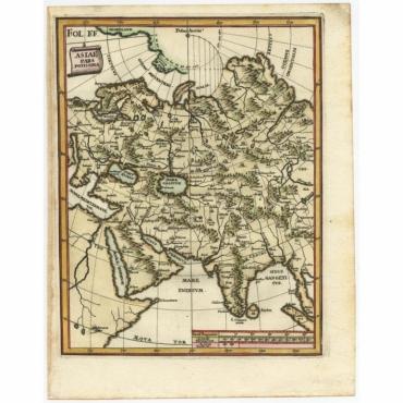 Asiae Pars Potissima - Scherer (c.1700)