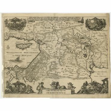 Die Gegend des Irdlisches Paradieses (..) - Von Sandrart (1708)