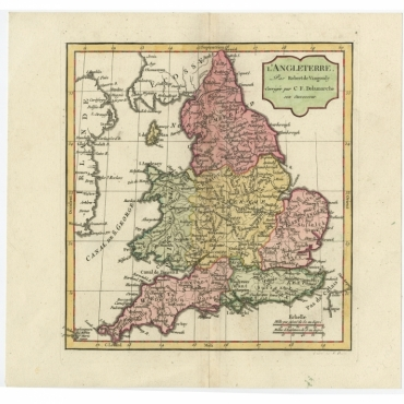 L'Angleterre - Vaugondy (1806)