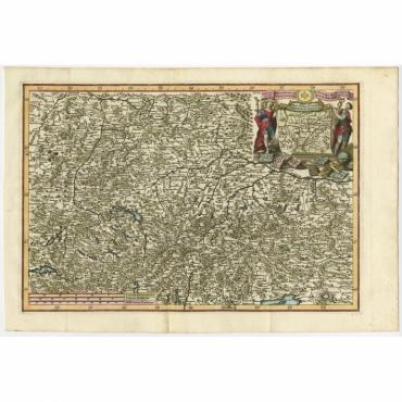 Provinciae Superior Germaniae Societatis - Scherer (c.1700)