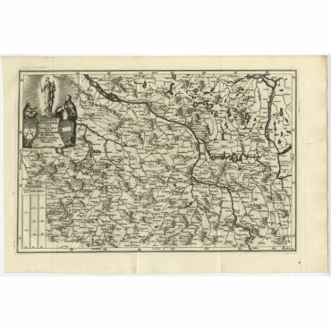 Saxonia et Westphalia (..) - Scherer (1699)