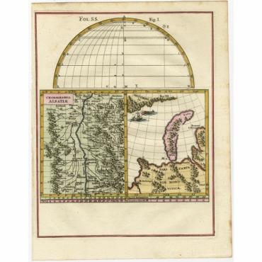 Chorographia Alsatiae - Scherer (c.1700)