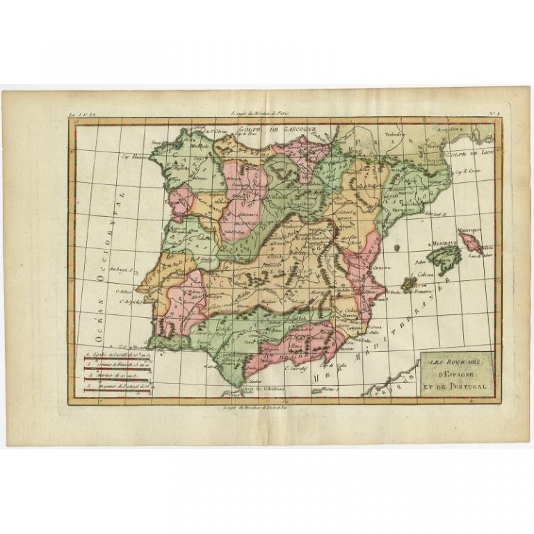 Les royaumes despagne et de portugal bonne 1780 gumiabroncs Gallery
