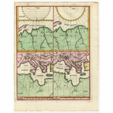 Untitled Map of the Laptev Sea - Scherer (c.1700)