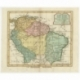 Antique Map of the northern part of South America by Delamarche (1806)