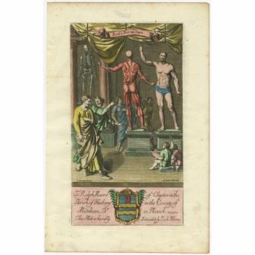 To Ralph Macro of Clapton (..) - Van der Gucht (1686)