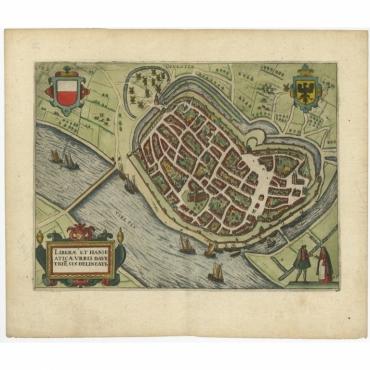 Liberae et Hanseaticae Urbis Davetriesis Delineati - Guicciardini (1648)