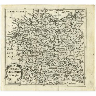 Nova Totius Germaniae descriptio - Bertius (1685)
