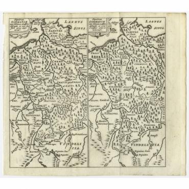 Populorum Germanium inter Rhenum (..) - Bertius (1685)