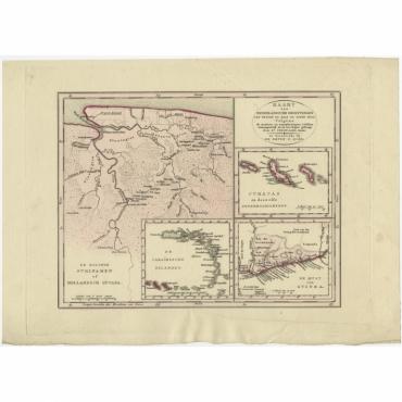 Kaart der Nederlandsche Bezittingen (..) - Veelwaard (c.1840)