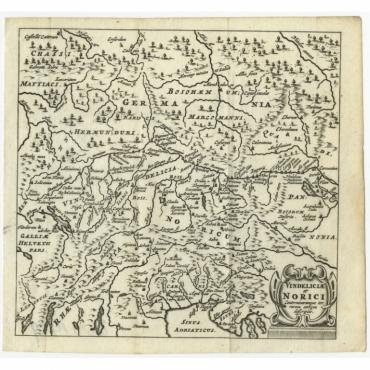 Vindeliciae et Norici (..) - Bertius (1685)