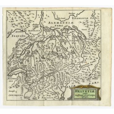 Helvetiae Conterminarumque Terrarii (..) - Bertius (1685)