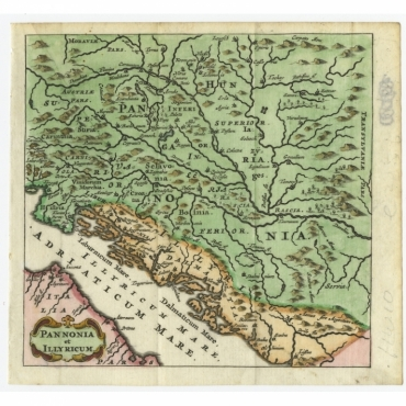 Pannonia et Illyricum - Bertius (1685)