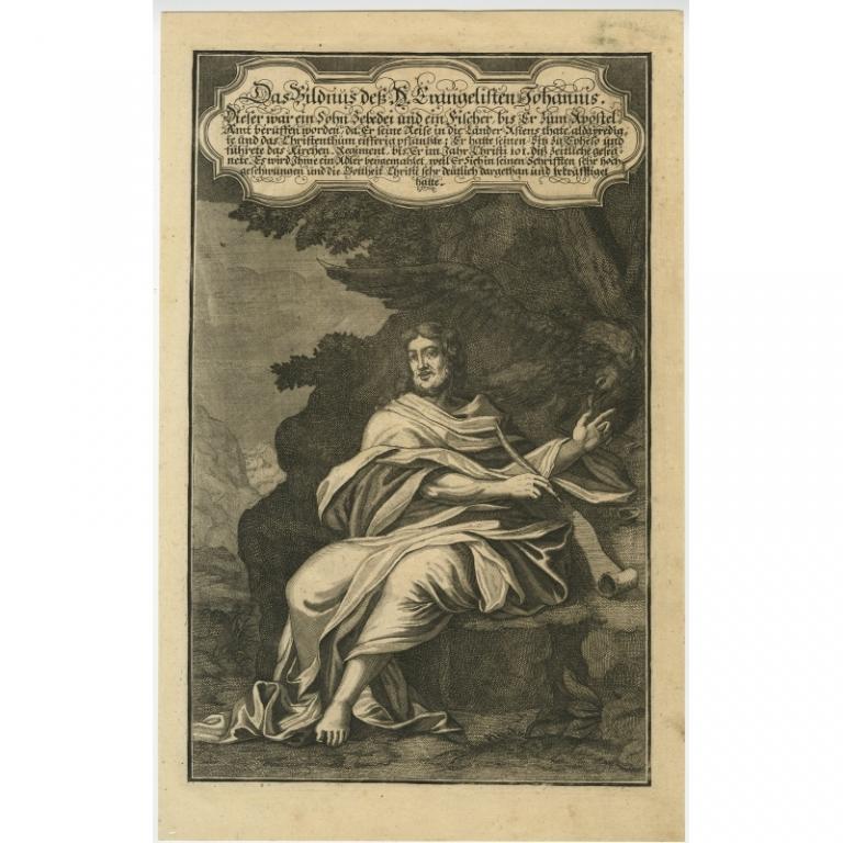Das Bildnus des H. Evangelisten Johannis (..) - Anonymous (1708)