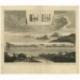 De Arke van Noach, dryvende op de Wateren (..) - Calmet (1725)