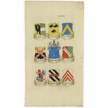 Tab. XVIII. Drews (..) - Ferwerda (1785)