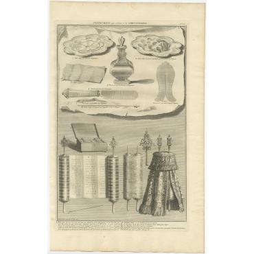 Instrumens qui servent à la Circoncision - Picart (1725)