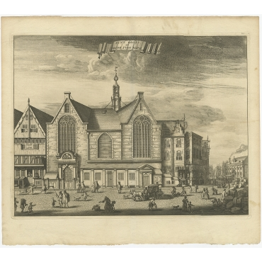 Sint Olofs nu Oude Zyds Kapel - Commelin (c.1765)