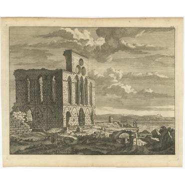 Untitled Print of a Ruin - De Bruyn (c.1700)