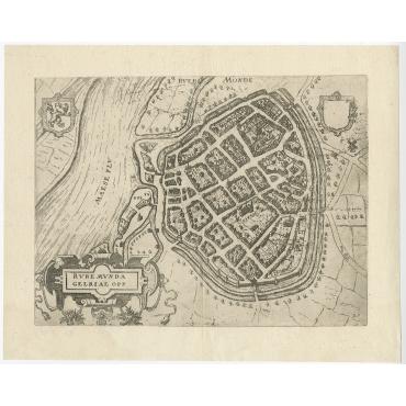 Ruremunda Gelriae Opp - Guicciardini (1613)