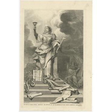 De Wet is door Mozes gegeven (..) - Van Gunst (1725)