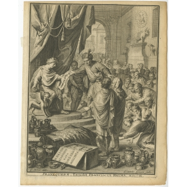 Frontispiece Franequerae (..) - Halma (1709)