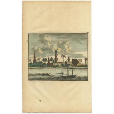 Untitled Print of Damietta - Anonymous (c.1700)
