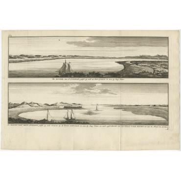 De Rivier van St. Juliaan (..) - Walter (1749)