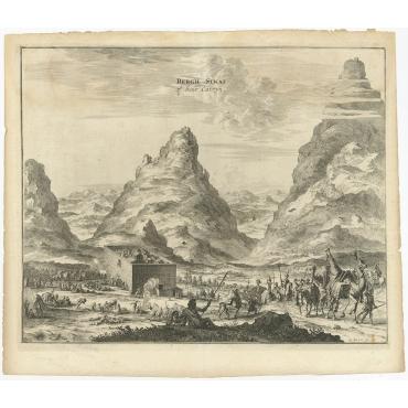 Bergh Sinai of Sint Catryn - Montanus (1680)