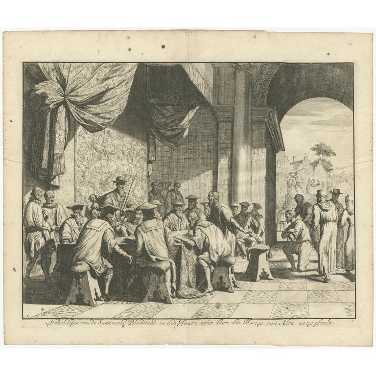 Afbeeldinge van de Spaansche Bloedraad in den Jaare 1567 (..) - Bor (c.1680)