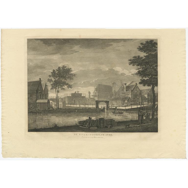 De Raam-Poort, in 1786 - Conradi (1787)