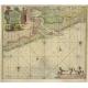 Paskaart van een gedeelte van Vriesland (..) - Van Keulen (1681)