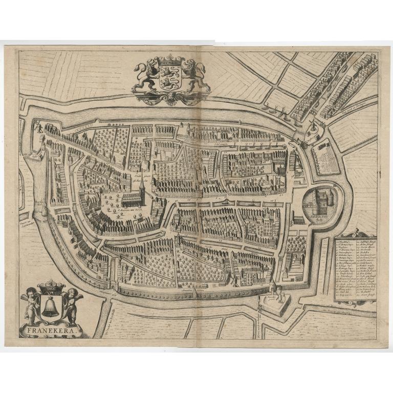 Franekera - Janssonius (1657)