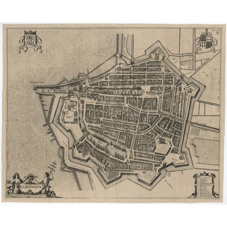 Harlingen - Janssonius (c.1657)