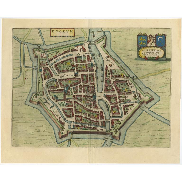 Dockum - Blaeu (1652)