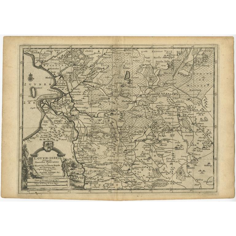 L'Over-Issel - Van der Aa (c.1715)