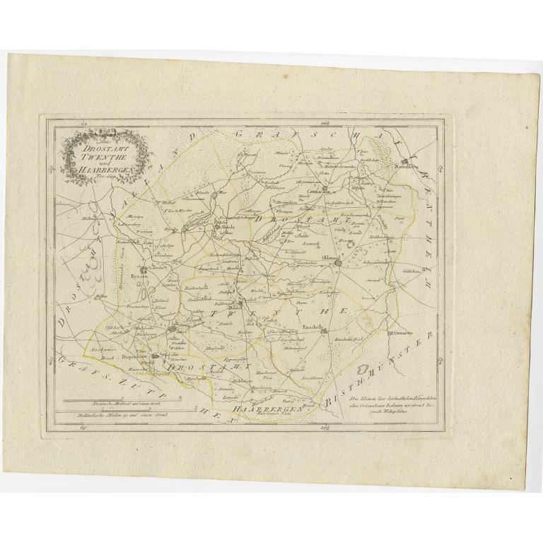 Das Drostamt Twenthe und Haarbergen - Von Reilly (1792)