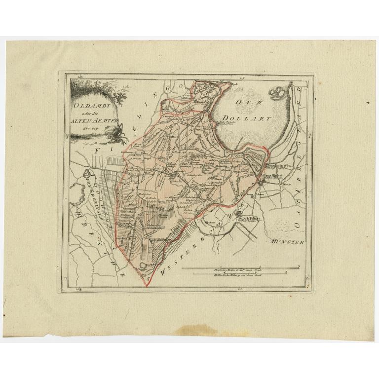 Oldambt oder die Alten Aemter - Von Reilly (1792)