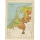 Nederland Hoogtekaart - Beekman & Schuiling (1927)