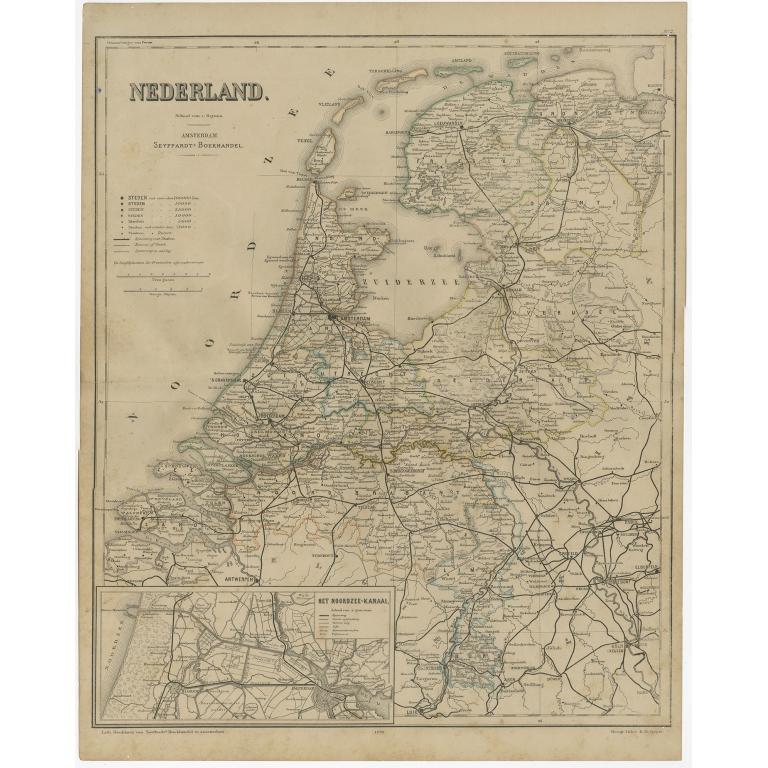Nederland - De Geest (1879)