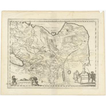Tartaria sive Magnichami Imperiorum - Blaeu (c.1645)