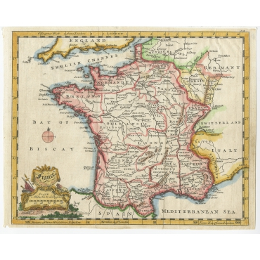 France - Jefferys (c.1756)