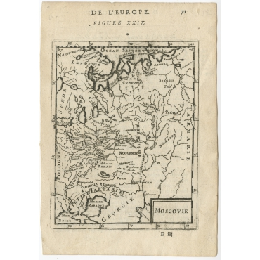 Moscovie - Mallet (c.1683)