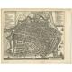 Grondtekening der Stad Enkhuisen - Tirion (1743)