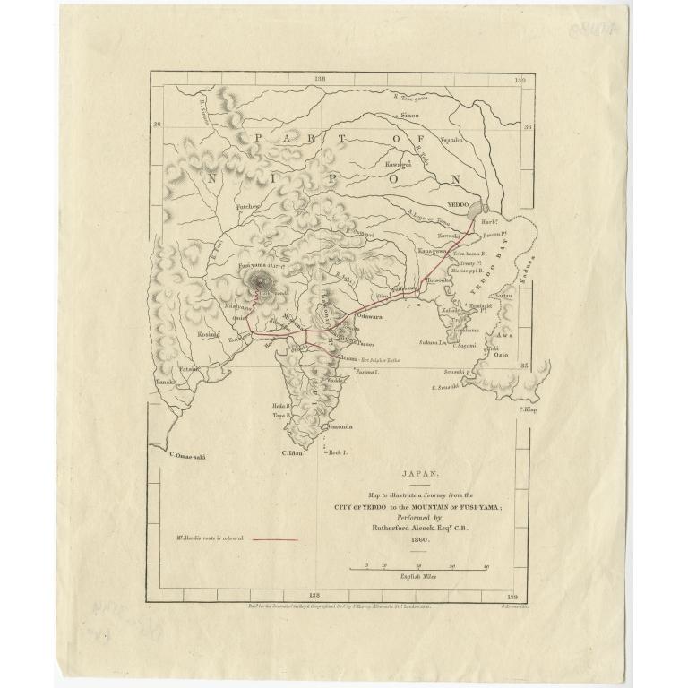 Japan - Arrowsmith (1861)