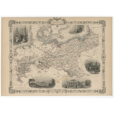 Prussia - Tallis (c.1851)